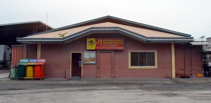 Old office of JY Enterprises Inc at Gensan